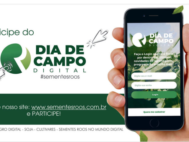 Roos disponibiliza Dia de Campo Digital